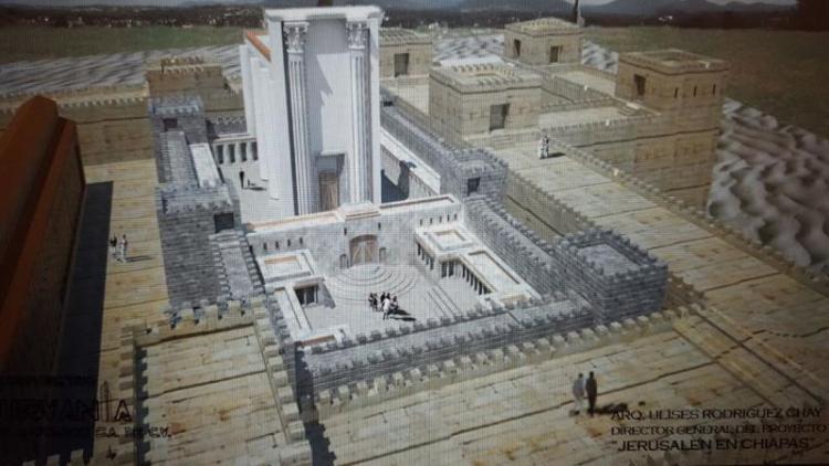 Construirán Templo de Salomon en Chiapas, un proyecto 100% evangélico