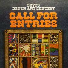 1973 EL ARTE DEL VAQUERO La empresa anuncia el concurso artístico Levi's® Denim Art Contest, e invita a los consumidores a enviar fotos de sus vaqueros y chaquetas decorados para un jurado especial. Los ganadores visitarán los museos de arte tradicional americano durante 1975.