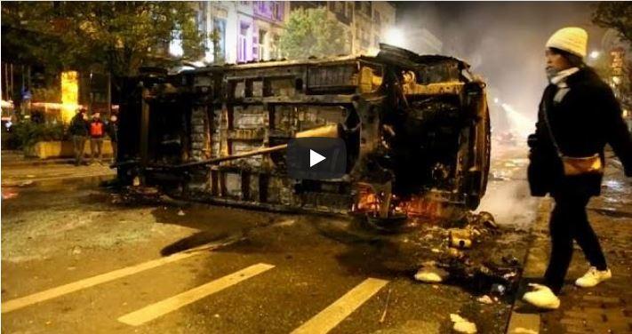 Disturbios en Bruselas y Rotterdam tras la clasificación de Marruecos para la Copa Mundial
