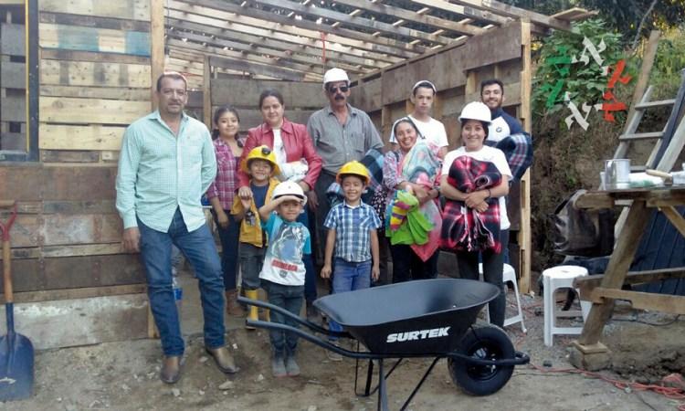 Conoce la labor de Fundación Ofakim, con proyectos de autoconstrucción en Morelos y Oaxaca
