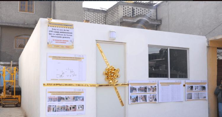 Fundación Fibra Uno financiará 180 viviendas antisísmicas en Iztapalapa