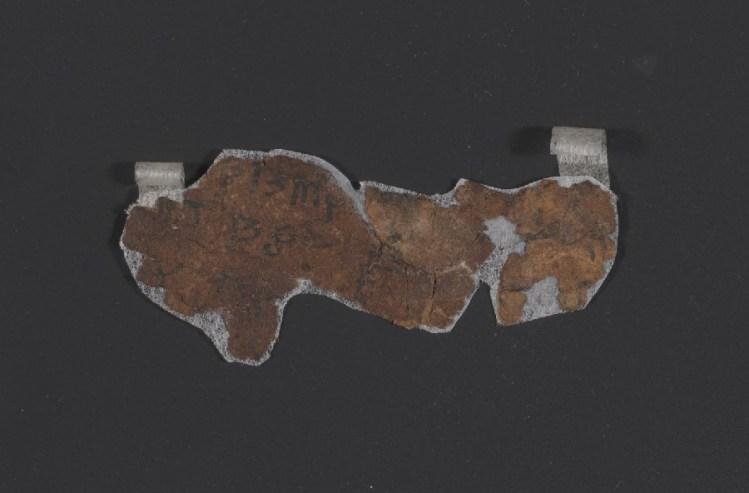 Descifran el contenido de un misterioso rollo del Mar Muerto