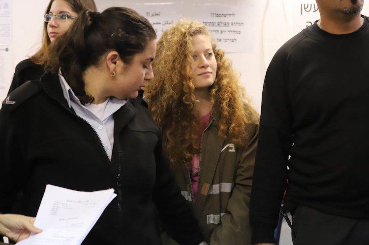 Inicia a puerta cerrada el juicio de la palestina Ahed Tamimi