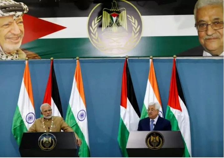 Tras la bienvenida a Netanyahu y elogios a Arafat, Modi recibe a Rouhani