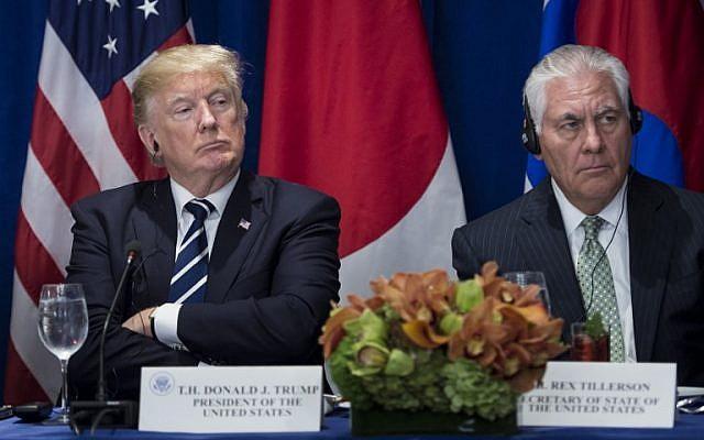 Trump despide al secretario de Estado Rex Tillerson, lo reemplaza por el jefe de la CIA, Mike Pompeo