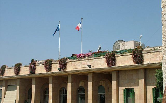 Israel arresta empleado del consulado francés por contrabando de armas
