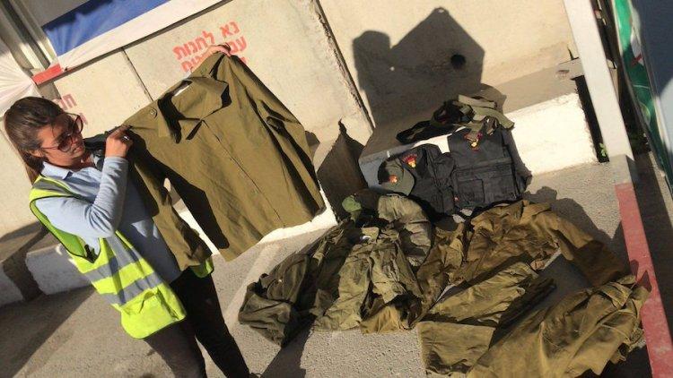 Frustran contrabando de uniformes de las FDI hacia Gaza