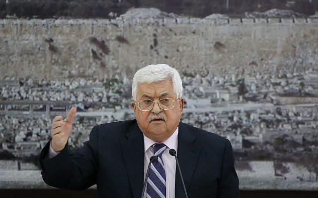 Abbas llama 'hijo de perro, colono' al embajador estadounidense en Israel