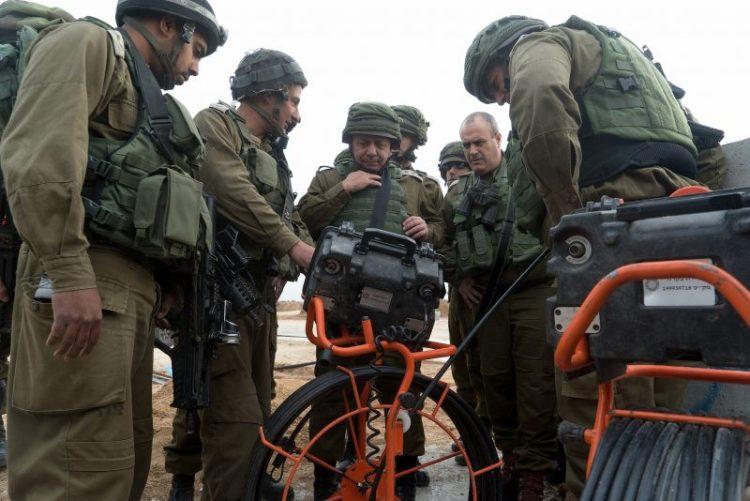 Israel revela laboratorio de detección de túneles terroristas