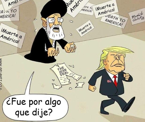 """Caricatura: """"Muerte a América"""""""