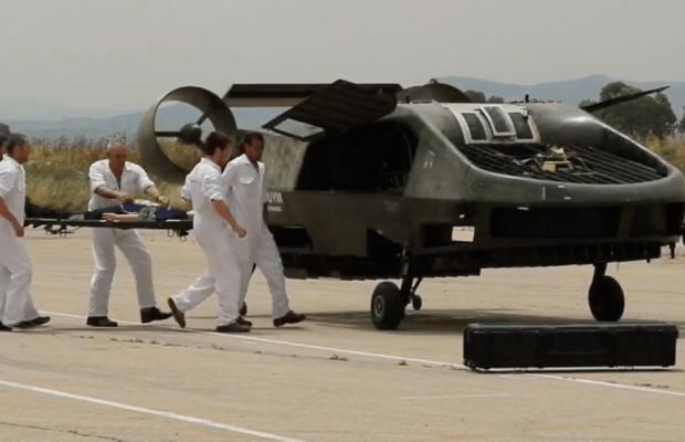 El nuevo avión no tripulado de Israel evacua heridos y entrega carga