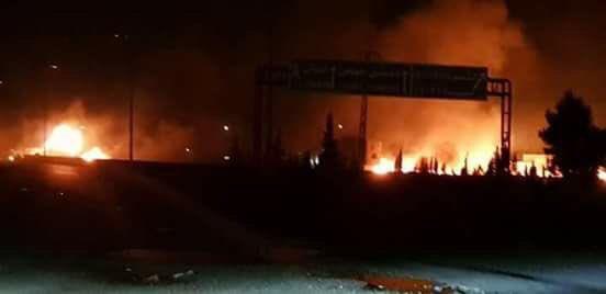 Ataque aéreo al sur de Damasco, medios sirios culpan a Israel