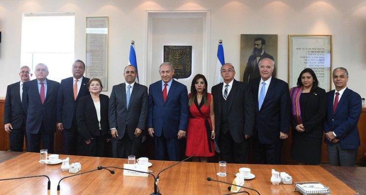 Netanyahu visitará Guatemala el próximo mes de noviembre