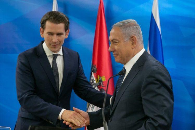 Tras la visita de Kurz, Israel podría rebajar el boicot al partido ultraderechista austriaco