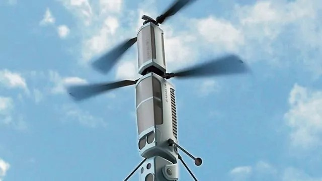 Conoce el nuevo dron de las FDI contra cometas incendiarias
