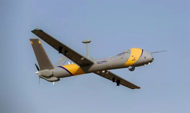 La empresa israelí Elbit lanza Hermes: un nuevo sistema de aviones no tripulados