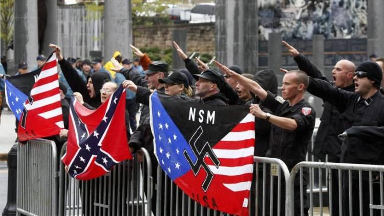 Tensión en Washington: neonazis marcharán frente a la Casa Blanca y la policía busca impedir enfrentamientos