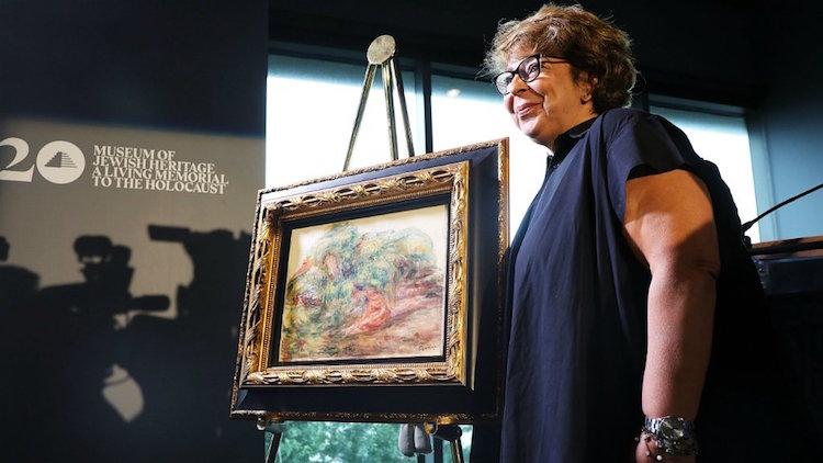 Familia judía recupera obra de Renoir robada por los nazis