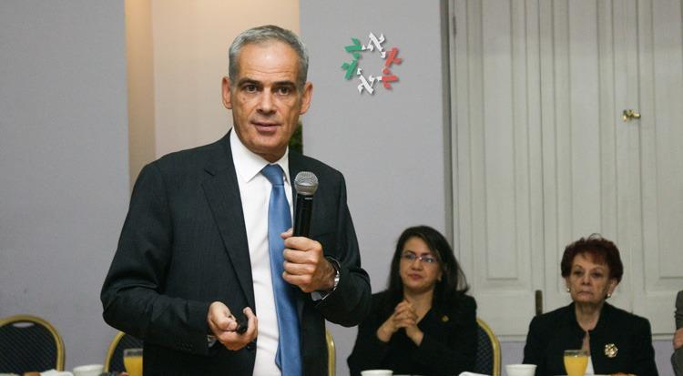 El Embajador Jonathan Peled felicita a los lectores de Enlace Judío por Rosh Hashaná
