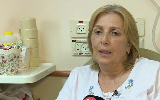 """""""Me dije a mí misma: Respira"""". Sobreviviente del terror en Barkan se escondió debajo del escritorio"""