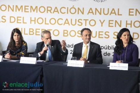 28-ENERO-2019-ACTO DE CONMEMORACION ANUAL EN MEMORIA DE LAS VICTIMAS DEL HOLOCAUSTO EN EL SENADO DE LA REPUBLICA-18