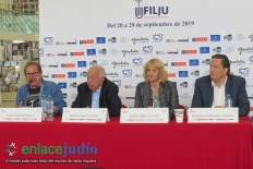 14-08-2019-CONFERENCIA DE PRENSA TERCER DEL FESTIVAL INTERNACIONAL DEL LIBRO JUDIO 1