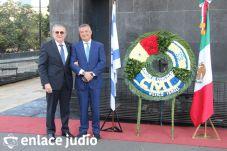 19-11-2019-OFRENDA EN EL MONUMENTO DE LA REVOLUCION POR PARTE DE LA CAMARA DE COMERCIO MEXICO ISRAEL 19