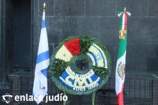 19-11-2019-OFRENDA EN EL MONUMENTO DE LA REVOLUCION POR PARTE DE LA CAMARA DE COMERCIO MEXICO ISRAEL 44