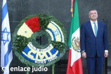 19-11-2019-OFRENDA EN EL MONUMENTO DE LA REVOLUCION POR PARTE DE LA CAMARA DE COMERCIO MEXICO ISRAEL 64