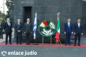 19-11-2019-OFRENDA EN EL MONUMENTO DE LA REVOLUCION POR PARTE DE LA CAMARA DE COMERCIO MEXICO ISRAEL 76