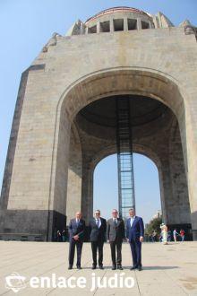 19-11-2019-OFRENDA EN EL MONUMENTO DE LA REVOLUCION POR PARTE DE LA CAMARA DE COMERCIO MEXICO ISRAEL 79