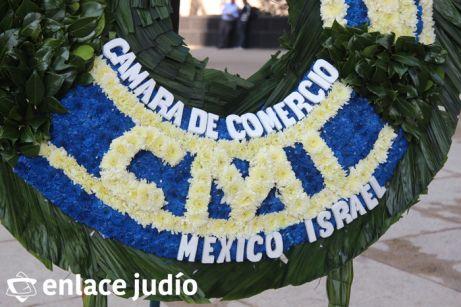 19-11-2019-OFRENDA EN EL MONUMENTO DE LA REVOLUCION POR PARTE DE LA CAMARA DE COMERCIO MEXICO ISRAEL 8