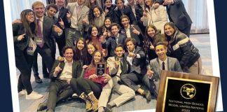 """El Colegio Hebreo Tarbut obtiene el """"Premio a la Excelencia como mejor Escuela Extranjera"""" en el NHSMUN."""