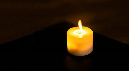 """vela para obituario, en memoria de Rosa Zirdok Memun Z""""L"""
