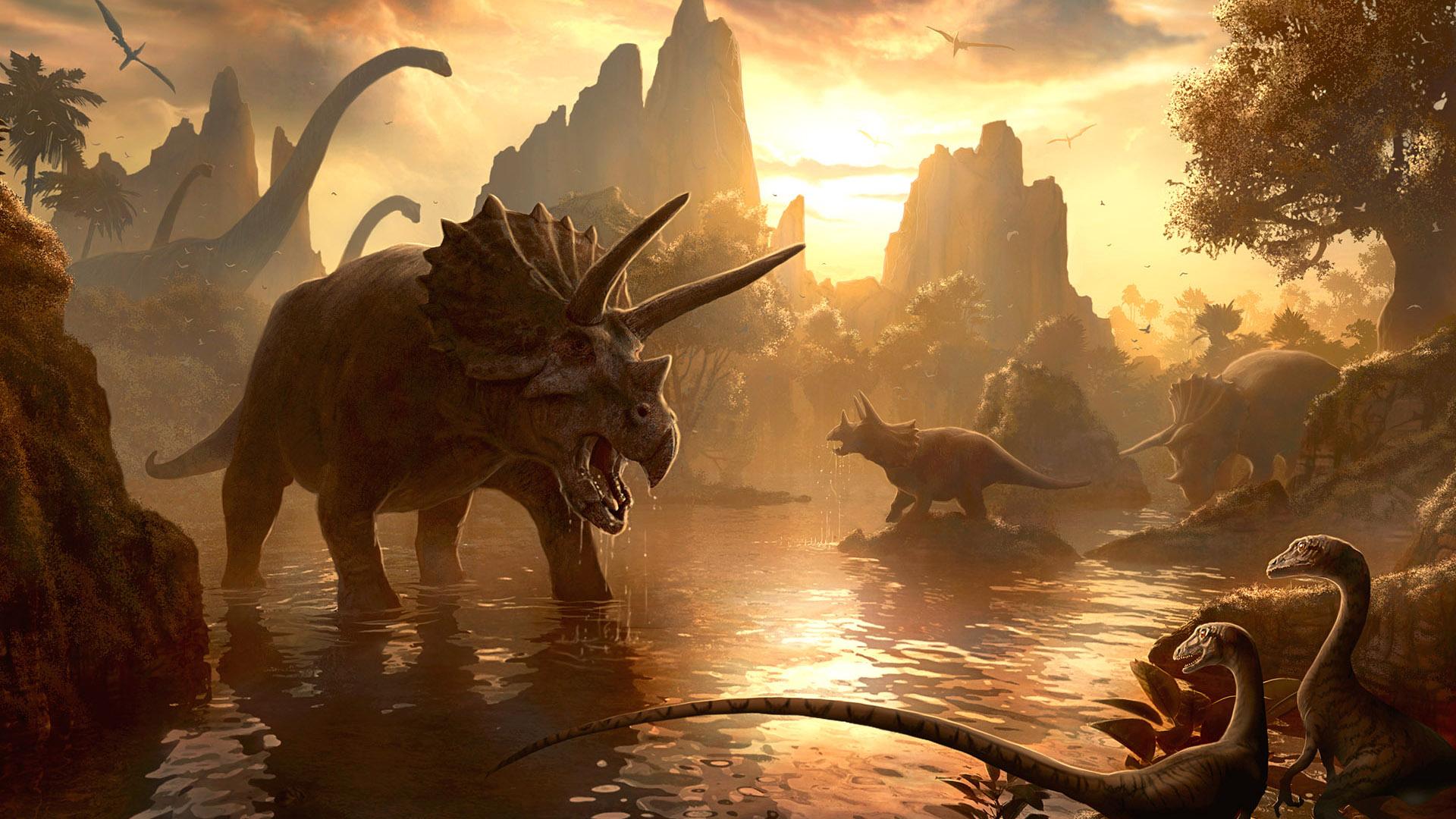 La hipótesis más popular es que los dinosaurios desaparecieron por el impacto de un meteorito, otras que apuntan a que fue causada por un factor biológico