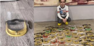Arturo Arditti Grapa, de 12 años, ha dedicado un parte importante de su tiempo haciendo caretas en tercera dimensión que donó a niños que padecen cáncer