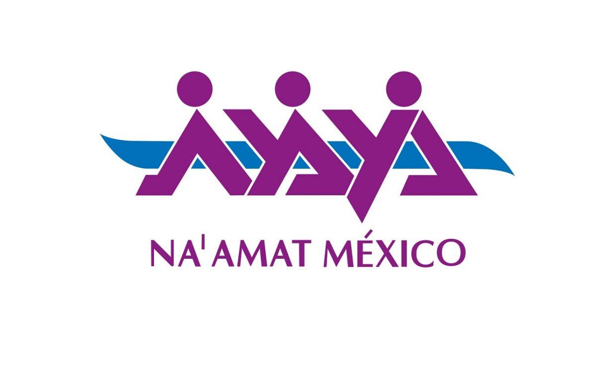 Na'amat México, comunidad judía mexicana logotipo