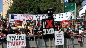 Netanyahu, protestas