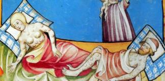 La peste negra mató por lo menos a la mitad de la población en Europa, el pueblo judío no se vio afectado por una practica poco usual en Europa de la época.