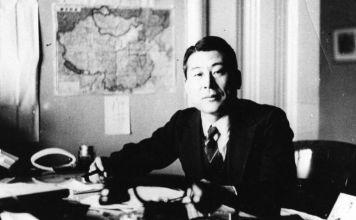 Chiune Sugihara, ex diplomático japonés que emitió las suficientes visas de tránsito para permitir que aproximadamente 6 mil judíos escaparán de Europa