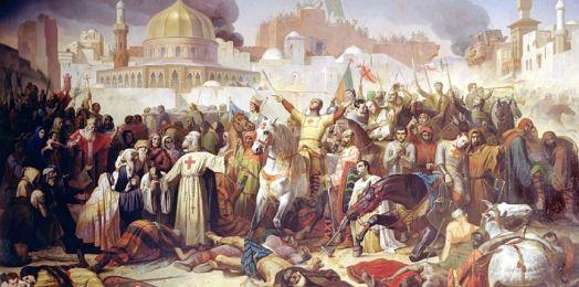 ¿Sabías qué un día como hoy Jerusalén cayó a manos de los cruzados cristianos?