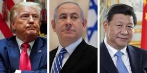 Israel, China, Estados Unidos