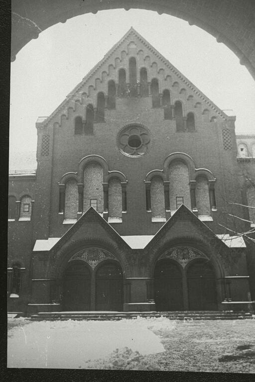 La sinagoga Rykestrasse de Berlín