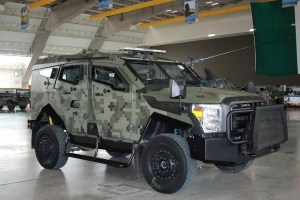 La empresa mexicana Blindajes EPEL, producen del vehículo blindado SandCat en la que el Ejercito Mexicano se apoya para operaciones de alta peligrosidad