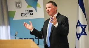 Ministro de Salud de Israel, YulI Edelstein