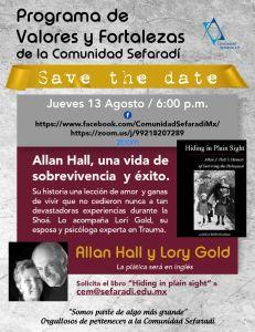 Allan Hall, una vida de sobrevivencia y éxito.