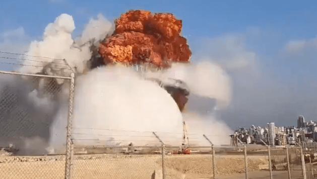 Carol Perelman/ La explosión química en Beirut