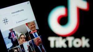Donald Trump declaró ayer que Microsoft puede comprar la aplicación china TikTok, pero dijo que la compra tendría que completarse antes del 15 de septiembre
