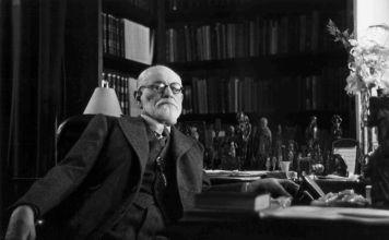 Retrato de Sigmund Freud el reconocido padre del psicoanálisis