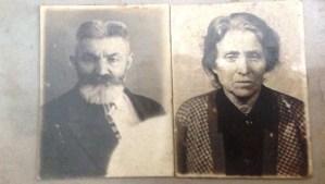 Retratos de Mordejay y Sheindle Sova, que no murieron en Babyn Yar como la familia había sospechado